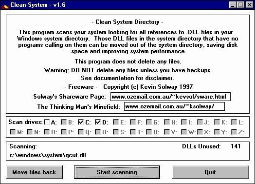 Clean System Directory