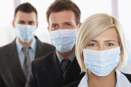Защитные медицинские маски от вирусов